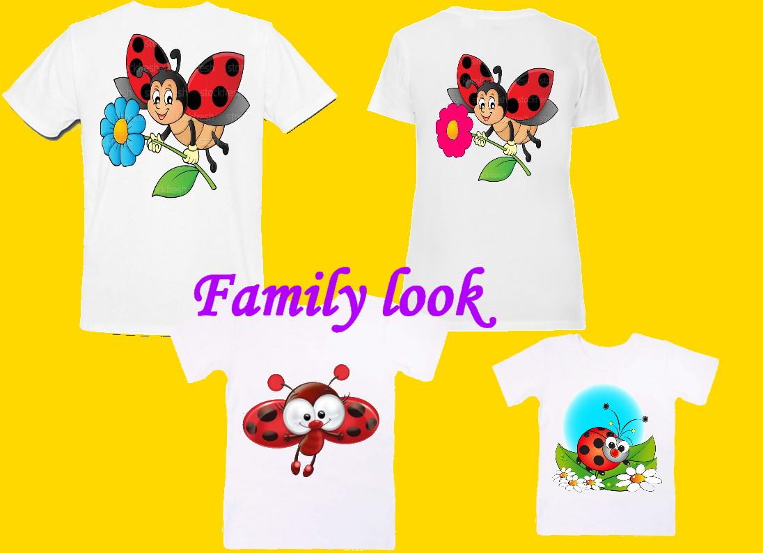 Футболки для всей семьи (Family Look)