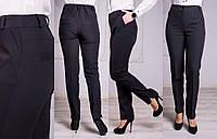 Женские модные стильные брюки Салина с карманами, 48-58