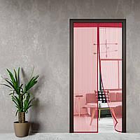 Антимоскітна сітка - MAGIC MASH - москитная сетка на двери Бордо