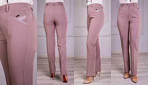 Женские классические прямые брюки Дороти,большие размеры р.64-70