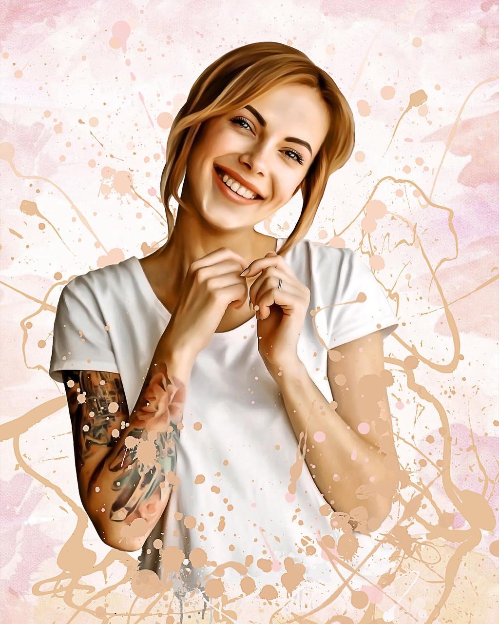 Цифровой портрет по фото на заказ (Дрим арт, поп арт, стилизация)