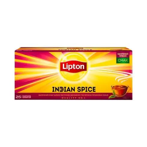 Чай Lipton Indian Spice чорний 25 пакетиків
