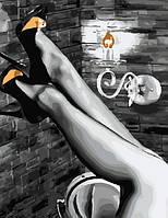 "Картина по номерам, Brushme ""Женские ножки"" GX5005"