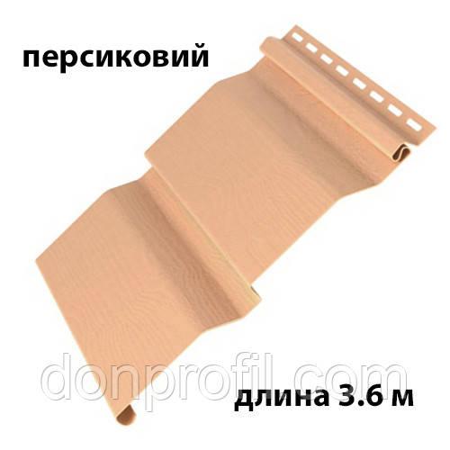 Сайдинг 3.60 м GL AMERIKA D4.4 Персиковый