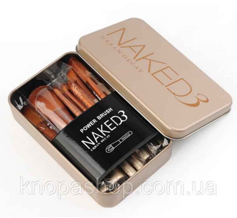 Набір кистей Naked