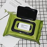 Влажные салфетки для снятия макияжа. Авокадо 60шт, фото 3