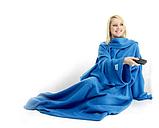 Плед с рукавами Snuggie синий, фото 2