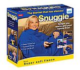 Плед с рукавами Snuggie синий, фото 3