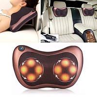 Массажная подушка с инфракрасным подогревом Massage Pillow (Живые фото)
