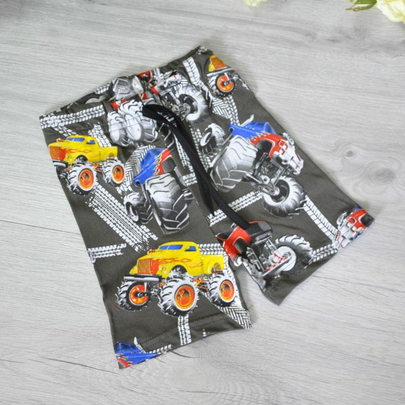 Детские летние трикотажные шорты, для мальчиков (5-8 лет) (4 ед в у п)