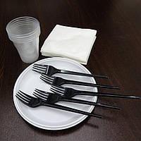 """Набор одноразовой посуды """"Пикник"""" на 5 персон"""