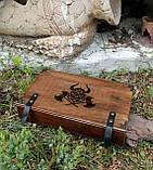 Лоток для игры в кости Подземелья и драконы / Dungeons and Dragons/ DnD / RpG, фото 6