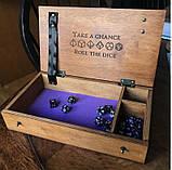 Лоток для игры в кости Подземелья и драконы / Dungeons and Dragons/ DnD / RpG, фото 2