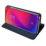 Dux Ducis Xiaomi Redmi K20/ K20 Pro Skin Pro Series Case Blue Чехол-Книжка, фото 5