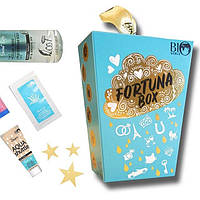 Подарочный набор уходовой белорусской косметики для лица Bio World Fortuna Box 6 в 1