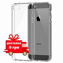 Прозорий чохол | Прозрачный чехол для iPhone 5/5s Ультратонкий