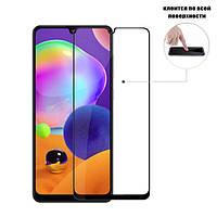 Защитное стекло Full Glue Glass для Samsung Galaxy A31 (a315) (клеится вся поверхность)