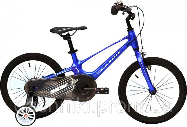 """Детский велосипед Ardis Shadow 16"""" 9"""" Синий (0487)"""