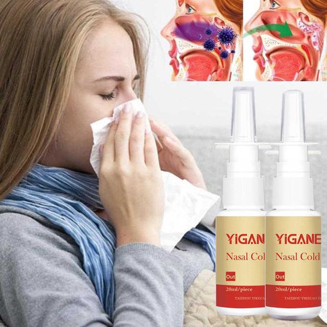 Спрей для носа,Спрей от насморка Yiganerjing, Спрей от насморка, Капли для носа купить недорого в украине