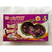 Кокосовые натуральные конфеты Ben Tre 250г c Таро (Вьетнам)