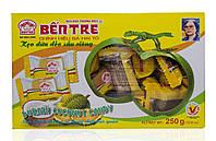 Кокосовые натуральные конфеты Ben Tre 250г c Дурианом Вьетнам