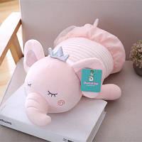 Мягкая игрушка подушка Слоненок балерина