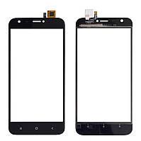Touchscreen (сенсор) для Ulefone S7 Pro Чорний