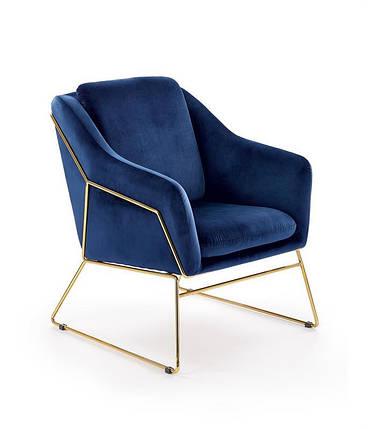 Крісло SOFT 3 синє, фото 2