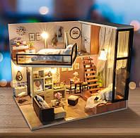 DIY House румбокс миниатюрный дом Attic Dream