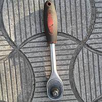 Вороток-трещотка для торцевых головок 1/2″, фото 1