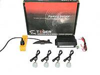 Парктроник TIGER TG-P4LED 4 дат Black/black D=20mm (компл.)