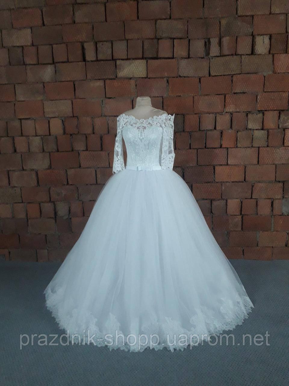 Платье свадебное. Размер 42-50