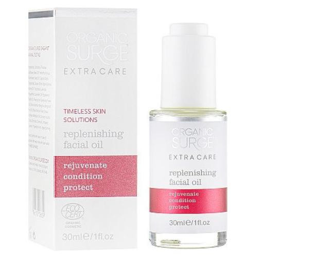 Эликсир восстанавливающий для лица Replenishing Facial Oil Organic Surge,30 мл