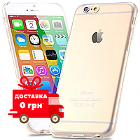 Прозорий чохол | Прозрачный чехол для iPhone 6 Plus/ 6s Plus Ультратонкий