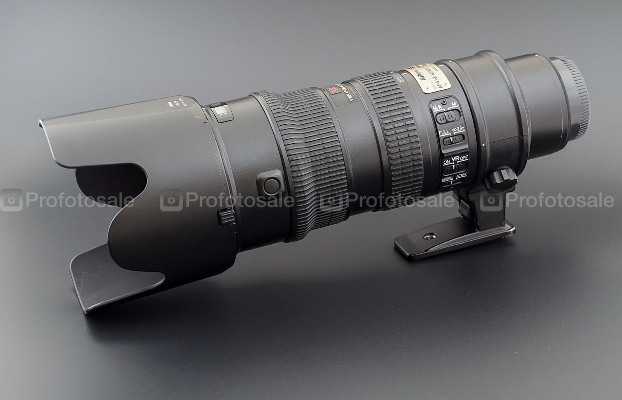 Nikon AF-S VR-Nikkor 70-200 f2.8G