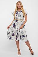 Красивое летнее платье для полных струящееся из софта минт