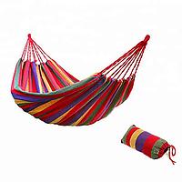✅ Мексиканский гамак тканевый 190 x 100 для дачи, подвесной   гамак підвісний