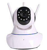 IP камера на 3 антенны Смарт-WiFi UKC, поворачивается на 360 градусов, 1080P