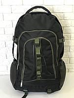 Рюкзак туристический VA T-02-8 65л, черный с хаки