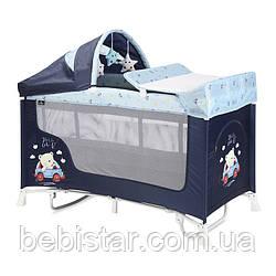 Кровать-манеж Lorelli San Remo 2 Layers Plus Rocker с рождениядо 36-ти месяцев