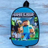 Портфель детский рюкзак для мальчика майнкрафт (Minecraft)