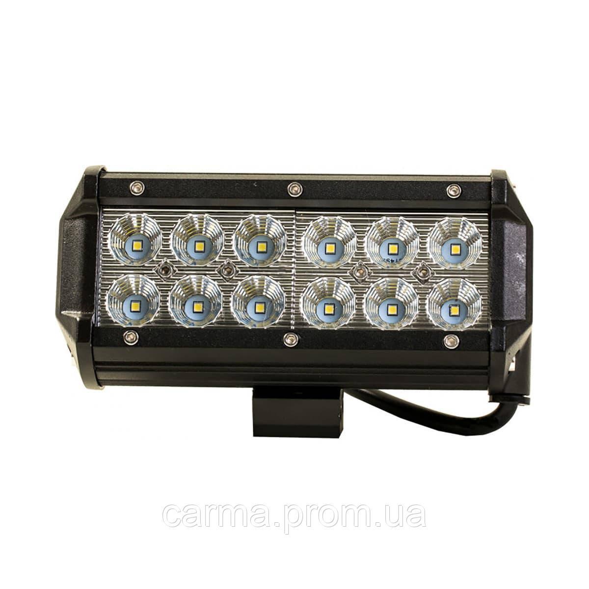 Автофара LED на крышу 5D-36W-SPOT Черный