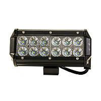 Автофара LED на крышу 5D-36W-SPOT Черный, фото 1