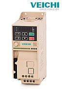 AC10-S2-2R2G-B 2,2 кВт, 1ф, 220В малогабаритный векторный частотный преобразователь, фото 1