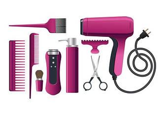 Інструменти та аксесуари для перукарень