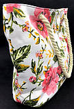 Женская летняя пляжная сумка с графическим принтом 45*28 см, фото 3