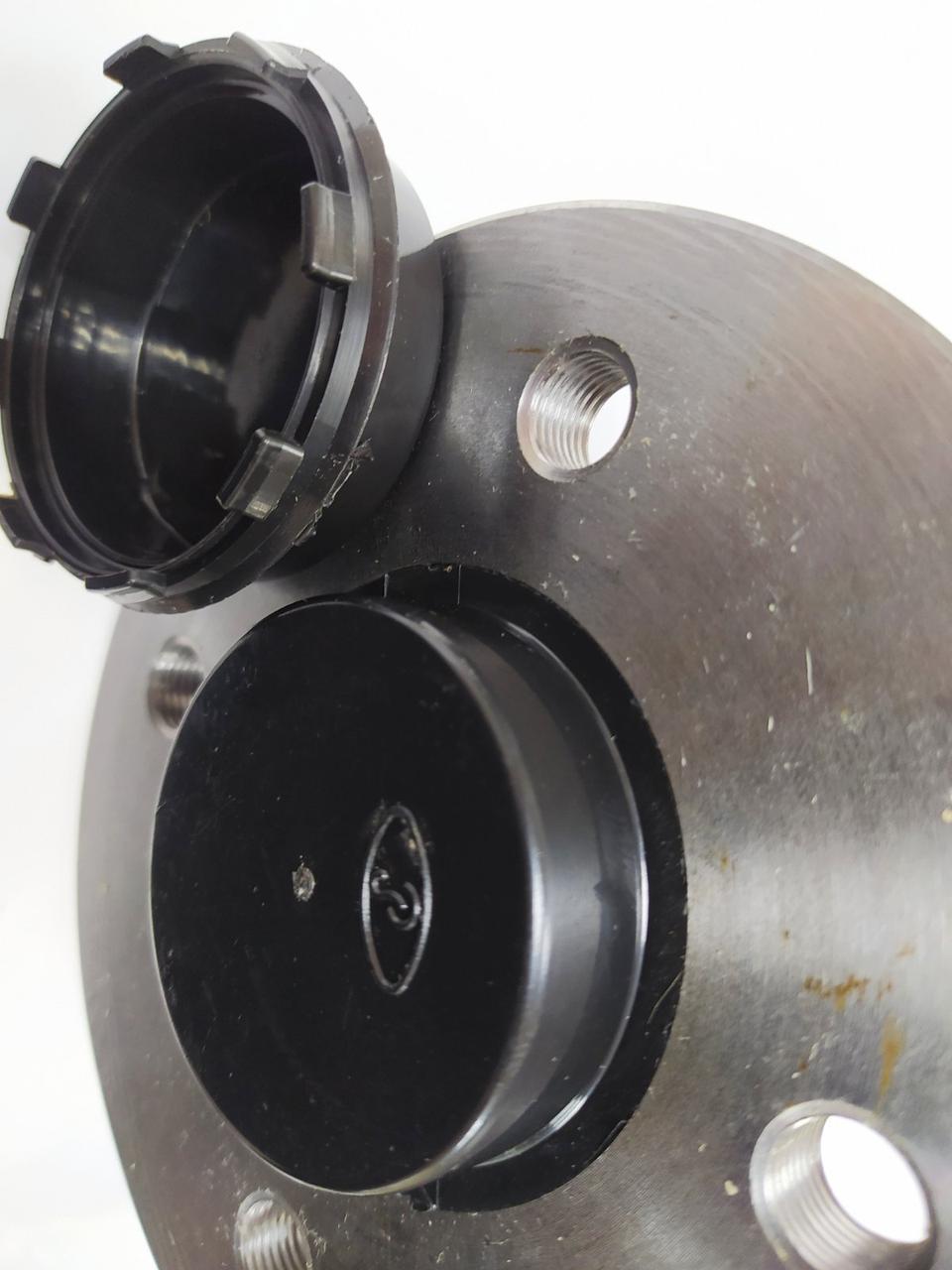 Ступица Knott стальная с подшипником 4*98  для легкового прицепа