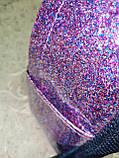 (30*23)Женский рюкзак YSL Двухслойный(глитер+плёнка) качество городской стильный Популярный только опт, фото 7