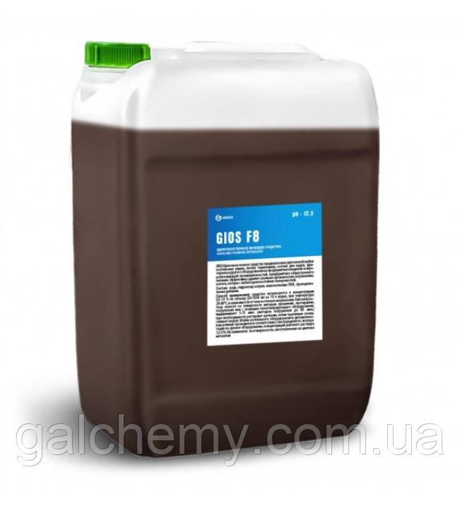 Лужний пінний миючий засіб  GIOS F8 (каністра 18,5 л), TM Grass