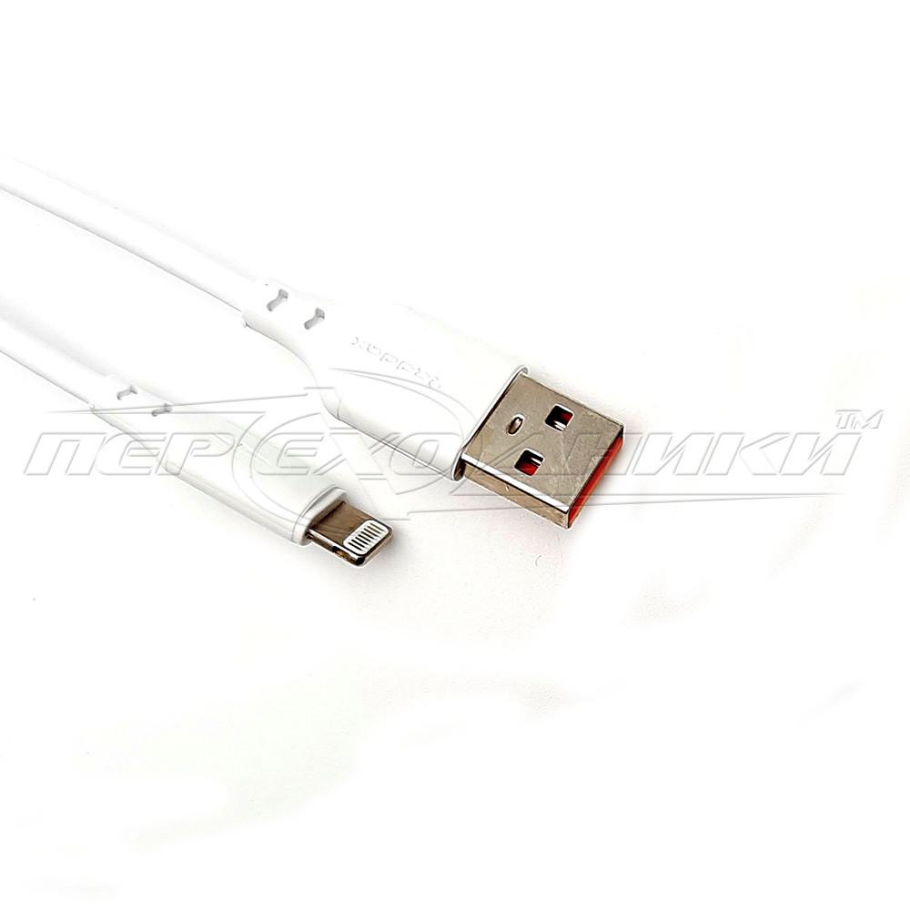 Кабель USB to Lightning(хорошее качество), 1 м, белый